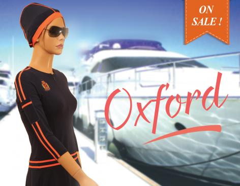 Oxford modest swimdress