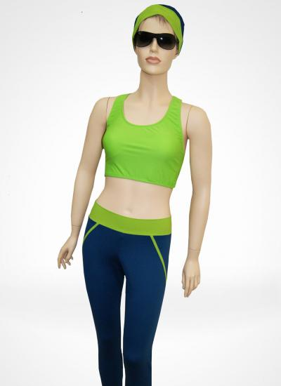 SwimBra green - Mastectomy