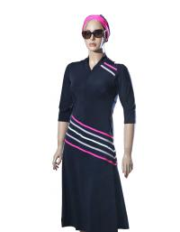 diagopink - modest swimdress- front