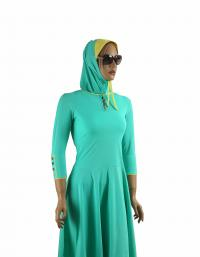 Front-Mint Ballet-modest swimdress muslim style