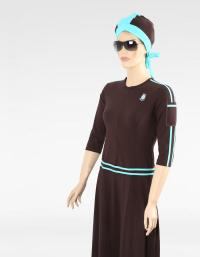 Mp6 brown modest swimsuit